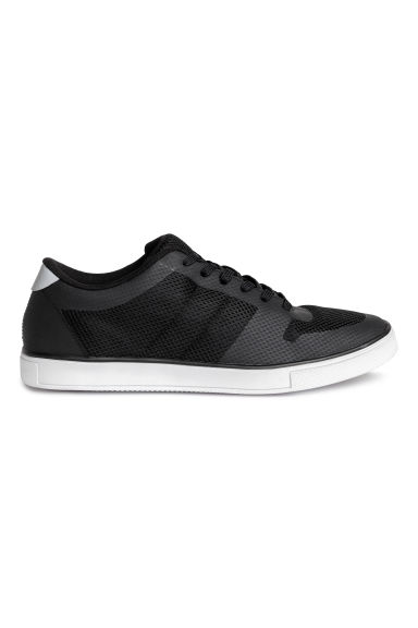 Sneakers in mesh - Nero - UOMO | H&M IT 1